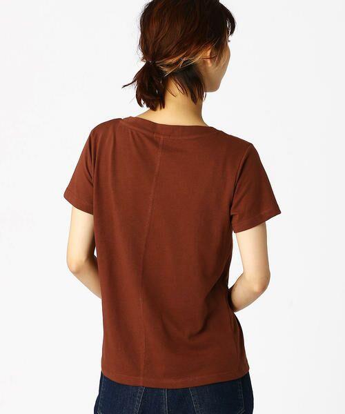 COMME CA ISM / コムサイズム Tシャツ | 箔プリントTシャツ | 詳細7