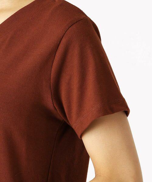 COMME CA ISM / コムサイズム Tシャツ | 箔プリントTシャツ | 詳細9