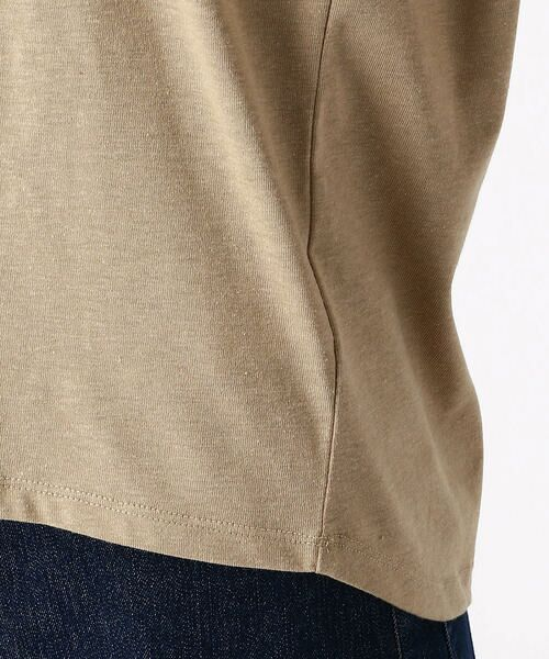COMME CA ISM / コムサイズム Tシャツ   ロゴプリントTシャツ   詳細9
