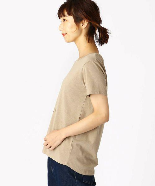 COMME CA ISM / コムサイズム Tシャツ   ロゴプリントTシャツ   詳細5