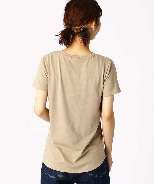 COMME CA ISM / コムサイズム Tシャツ   ロゴプリントTシャツ   詳細6