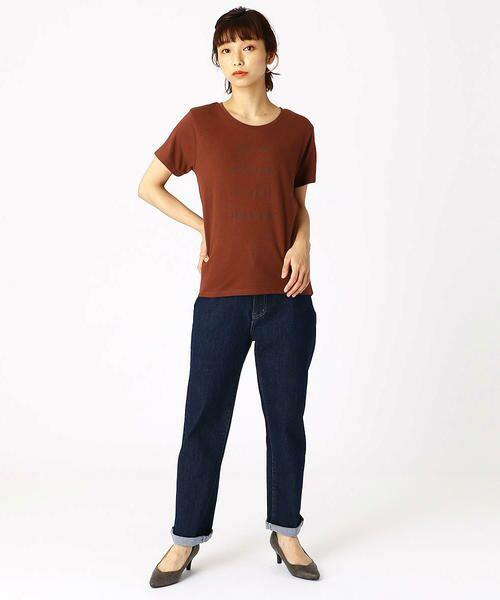 COMME CA ISM / コムサイズム Tシャツ   ロゴプリントTシャツ   詳細11