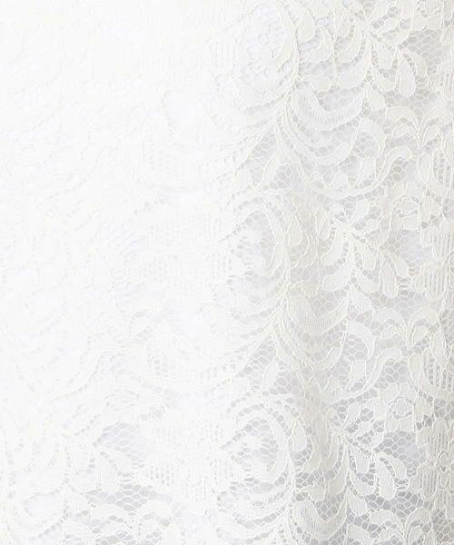 COMME CA ISM / コムサイズム シャツ・ブラウス | ★TVドラマ着用商品★ レース Tブラウス | 詳細7
