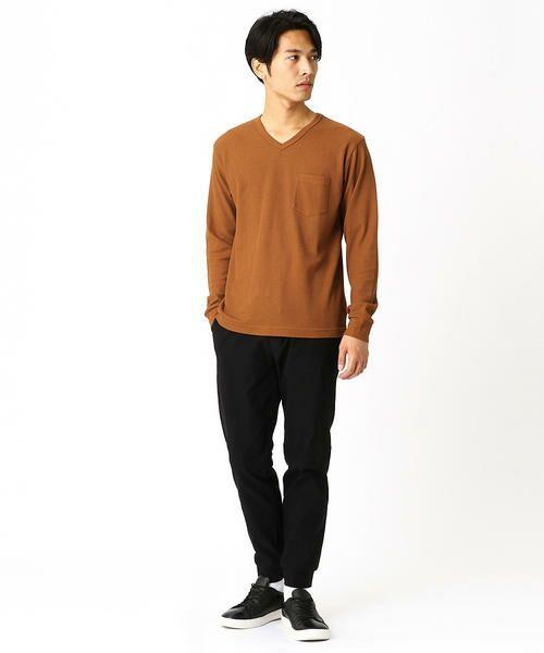 COMME CA ISM / コムサイズム Tシャツ | VネックTシャツ | 詳細1