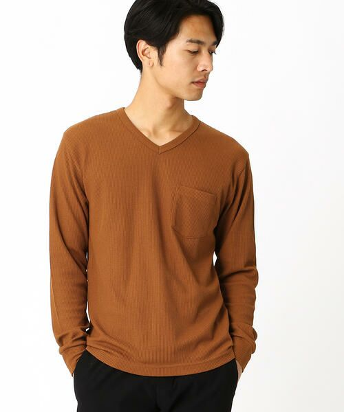 COMME CA ISM / コムサイズム Tシャツ | VネックTシャツ | 詳細2