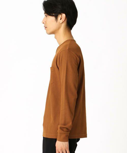 COMME CA ISM / コムサイズム Tシャツ | VネックTシャツ | 詳細3