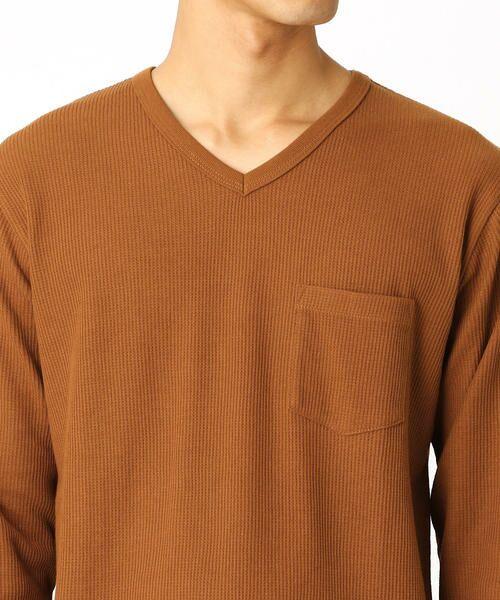 COMME CA ISM / コムサイズム Tシャツ | VネックTシャツ | 詳細5