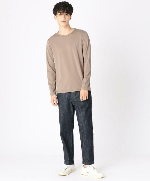 COMME CA ISM / コムサイズム Tシャツ   クルーネックTシャツ   詳細1