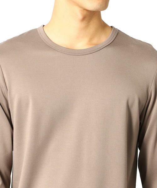 COMME CA ISM / コムサイズム Tシャツ   クルーネックTシャツ   詳細8