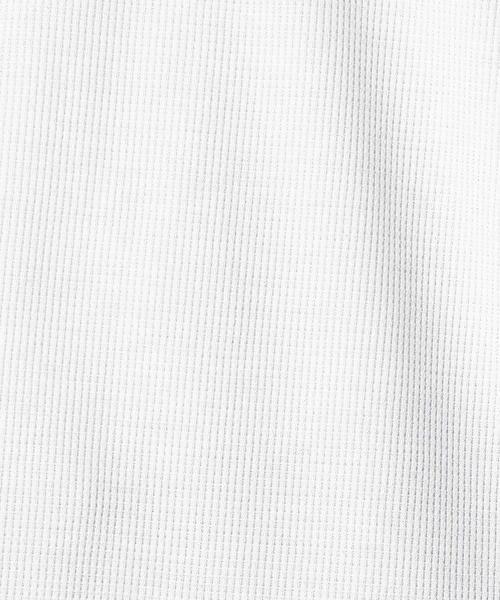 COMME CA ISM / コムサイズム Tシャツ | 【MIZUNO コラボ】ワッフル ロングTシャツ | 詳細1