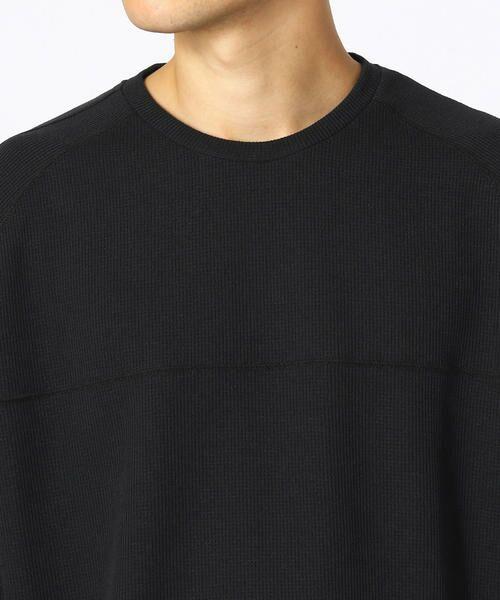 COMME CA ISM / コムサイズム Tシャツ | 【MIZUNO コラボ】ワッフル ロングTシャツ | 詳細6