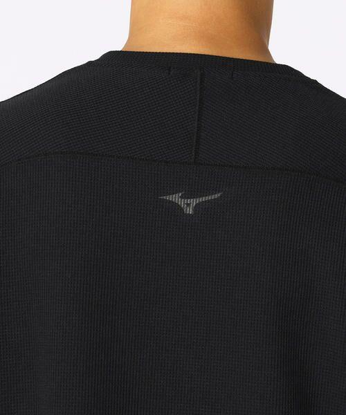 COMME CA ISM / コムサイズム Tシャツ | 【MIZUNO コラボ】ワッフル ロングTシャツ | 詳細7