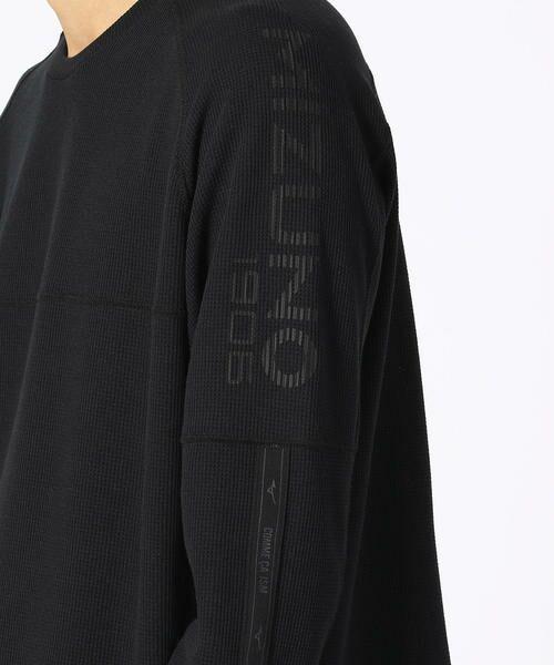 COMME CA ISM / コムサイズム Tシャツ | 【MIZUNO コラボ】ワッフル ロングTシャツ | 詳細9