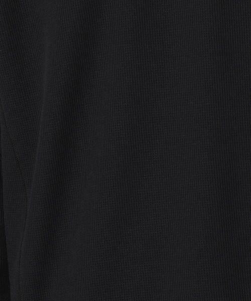 COMME CA ISM / コムサイズム Tシャツ | 【MIZUNO コラボ】ワッフル ロングTシャツ | 詳細10