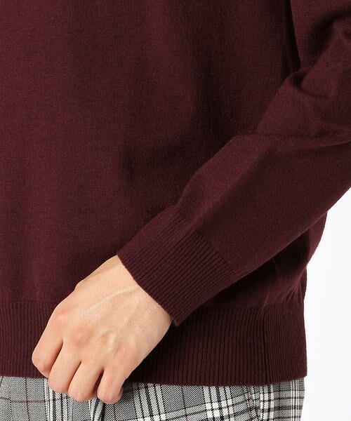 COMME CA ISM / コムサイズム ニット・セーター | クルーネック カラー プルオーバー | 詳細7