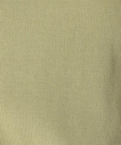 COMME CA ISM / コムサイズム ニット・セーター | 《ウォッシャブル/コットン》ニット クルーネック プルオーバー | 詳細11