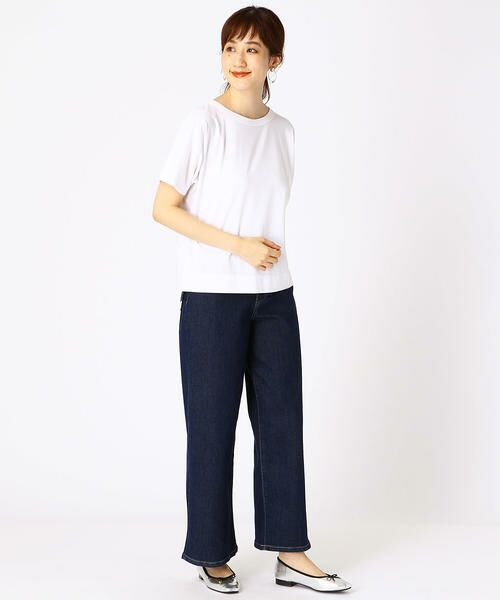 COMME CA ISM / コムサイズム Tシャツ | フレンチスリーブ Tシャツ | 詳細1