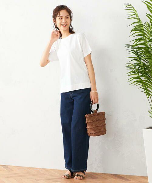 COMME CA ISM / コムサイズム Tシャツ | フレンチスリーブ Tシャツ | 詳細2