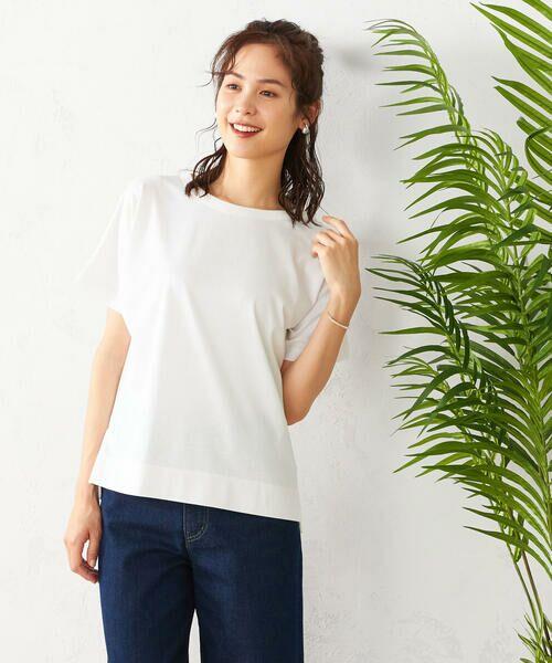COMME CA ISM / コムサイズム Tシャツ | フレンチスリーブ Tシャツ | 詳細3