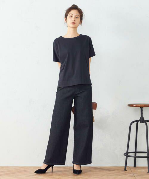 COMME CA ISM / コムサイズム Tシャツ | フレンチスリーブ Tシャツ | 詳細4
