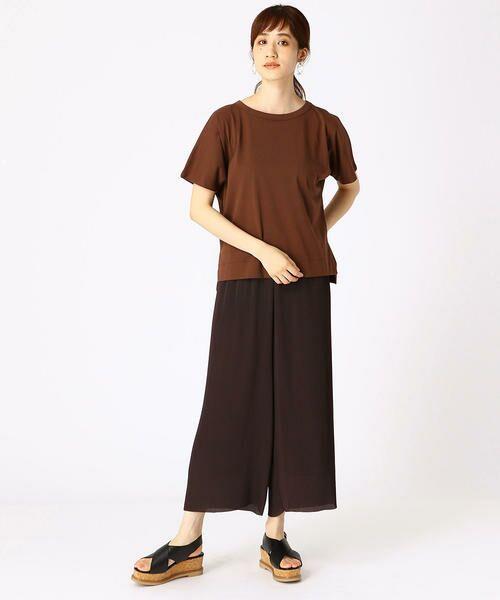 COMME CA ISM / コムサイズム Tシャツ | フレンチスリーブ Tシャツ | 詳細6