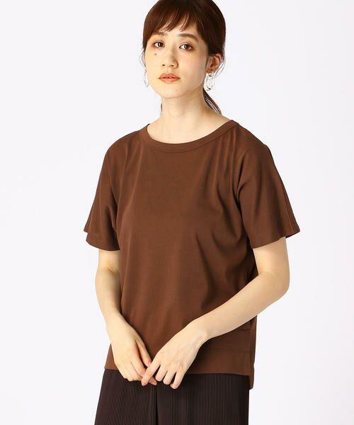 COMME CA ISM / コムサイズム Tシャツ | フレンチスリーブ Tシャツ | 詳細9