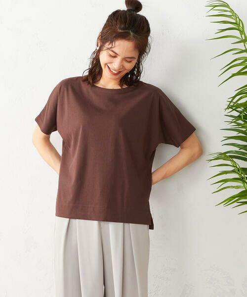 COMME CA ISM / コムサイズム Tシャツ | フレンチスリーブ Tシャツ | 詳細8