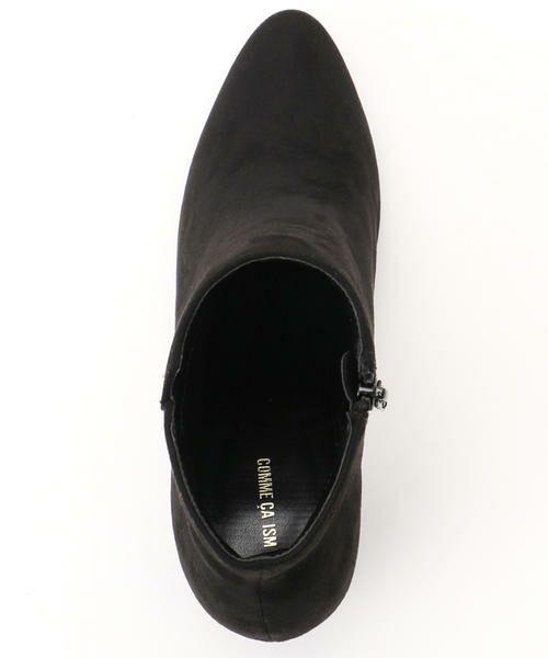 COMME CA ISM / コムサイズム ブーツ(ロング丈) | 《フェイクスエード》 ショート アンクルブーツ | 詳細4
