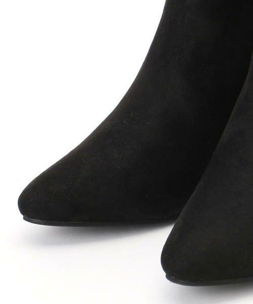 COMME CA ISM / コムサイズム ブーツ(ロング丈) | 《フェイクスエード》 ショート アンクルブーツ | 詳細5