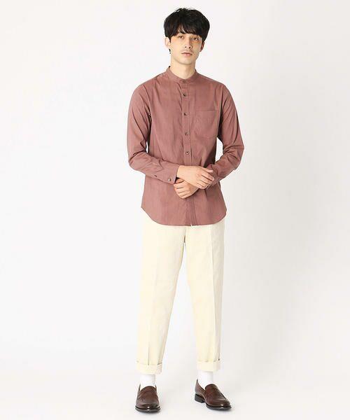 COMME CA ISM / コムサイズム シャツ・ブラウス | バンドカラーシャツ | 詳細2