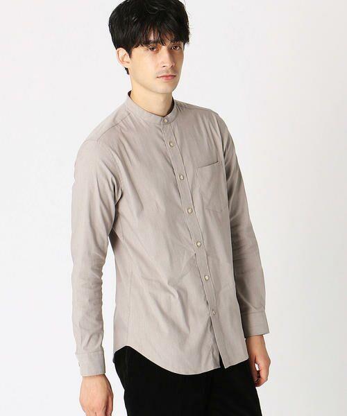 COMME CA ISM / コムサイズム シャツ・ブラウス | バンドカラーシャツ | 詳細4
