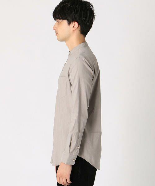 COMME CA ISM / コムサイズム シャツ・ブラウス | バンドカラーシャツ | 詳細5