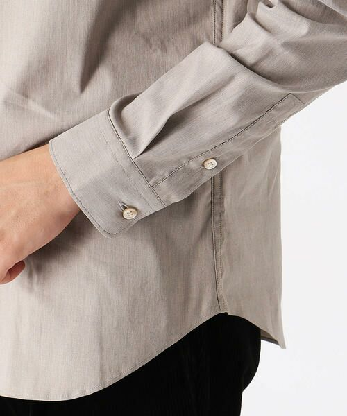 COMME CA ISM / コムサイズム シャツ・ブラウス | バンドカラーシャツ | 詳細8