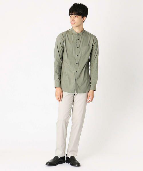 COMME CA ISM / コムサイズム シャツ・ブラウス | バンドカラーシャツ | 詳細10