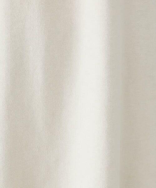 COMME CA ISM / コムサイズム カットソー | ★TVドラマ着用商品★ ビッグシルエット ロングTシャツ | 詳細13