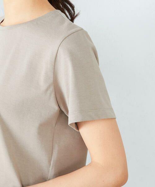 COMME CA ISM / コムサイズム カットソー | 〈吸水速乾〉 ベーシックTシャツ | 詳細8