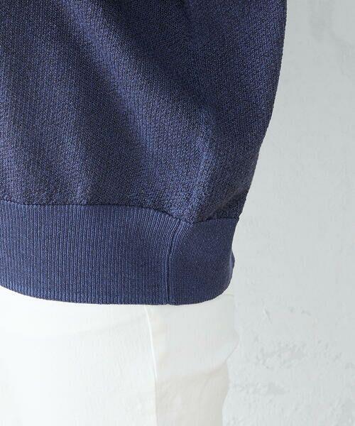 COMME CA ISM / コムサイズム ニット・セーター | ラメニット プルオーバー | 詳細12