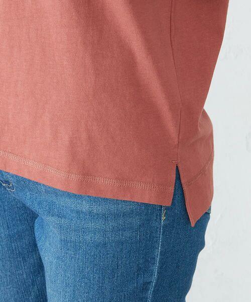 COMME CA ISM / コムサイズム Tシャツ | 《コットン》 クルーネック プリントTシャツ | 詳細13