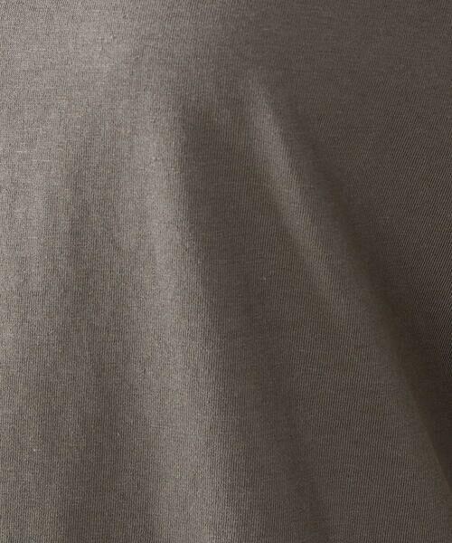 COMME CA ISM / コムサイズム Tシャツ | 《コットン》 ドルマンスリーブ ロゴプリント Tシャツ | 詳細13