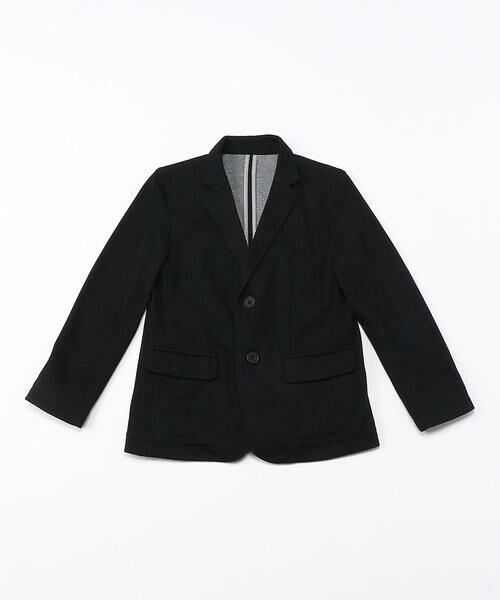 COMME CA ISM/コムサイズム 《洗える》ポンチジャケット(140-160サイズ) ブラック 140cm