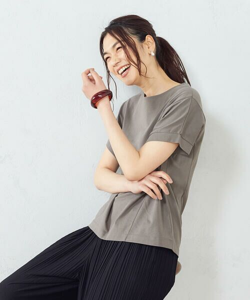 COMME CA ISM / コムサイズム Tシャツ | フレンチスリーブ Tシャツ | 詳細5