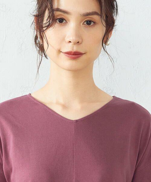 COMME CA ISM / コムサイズム ロング・マキシ丈ワンピース | Tシャツ ワンピース | 詳細6