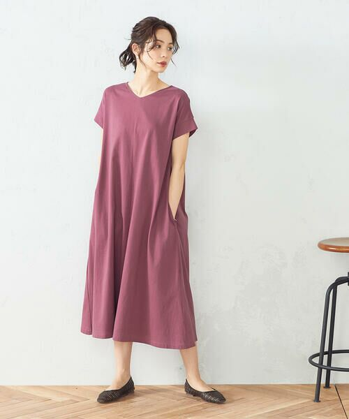 COMME CA ISM / コムサイズム ロング・マキシ丈ワンピース | Tシャツ ワンピース | 詳細2