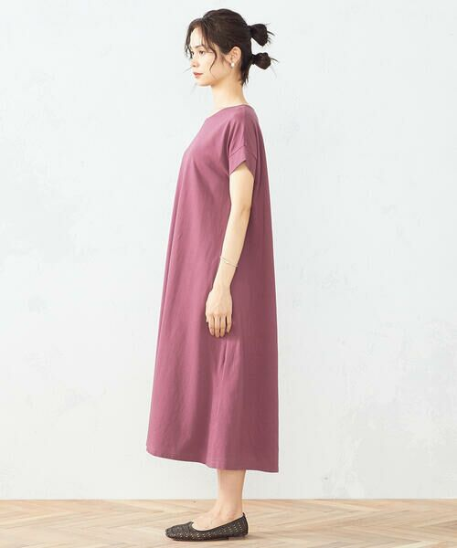 COMME CA ISM / コムサイズム ロング・マキシ丈ワンピース | Tシャツ ワンピース | 詳細4