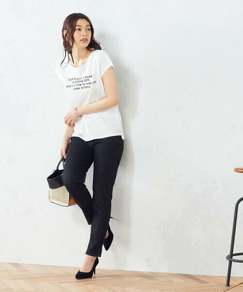 COMME CA ISM / コムサイズム Tシャツ | プリント Tシャツ | 詳細3