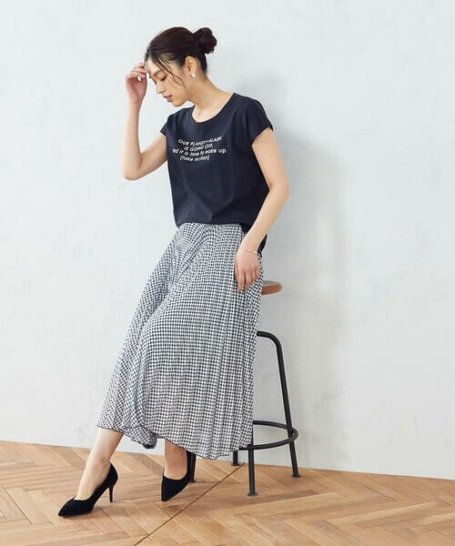 COMME CA ISM / コムサイズム Tシャツ | プリント Tシャツ | 詳細5