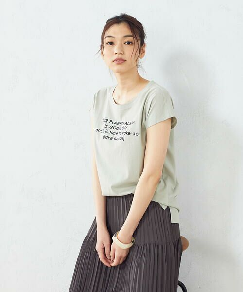COMME CA ISM / コムサイズム Tシャツ | プリント Tシャツ | 詳細7