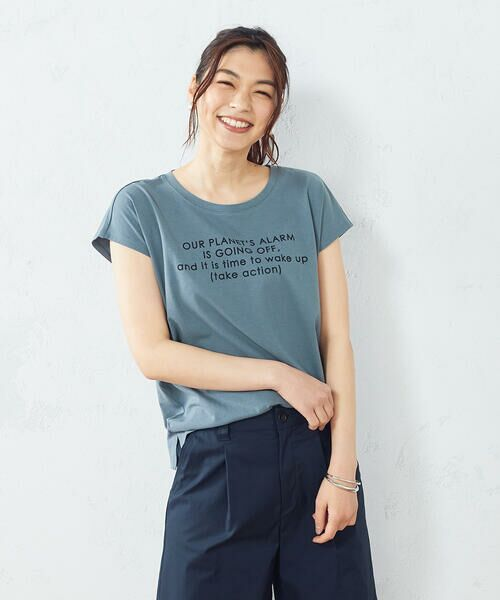 COMME CA ISM / コムサイズム Tシャツ | プリント Tシャツ | 詳細9