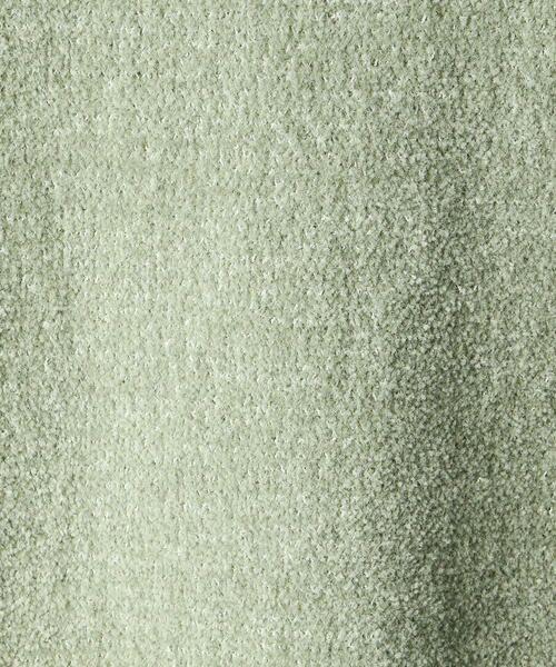 Comme ca Mature / コムサマチュア ニット・セーター | ラグランスリーブクルーネック ニットプルオーバー | 詳細10