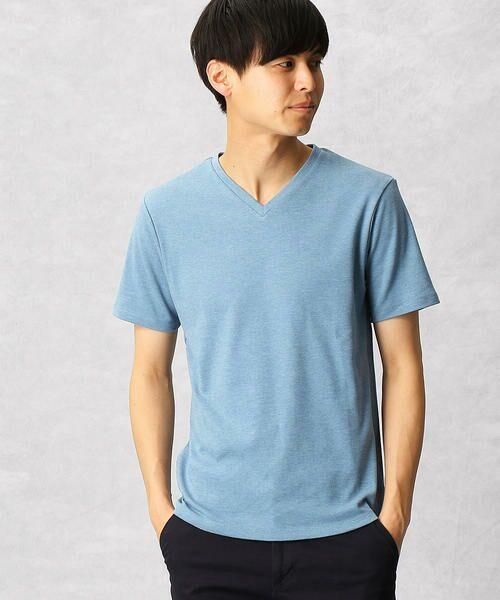 COMME CA MEN / コムサ・メン Tシャツ | ゼロステイン VネックTシャツ | 詳細3